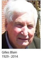 Photo du critique et enseignant Gilles Blain